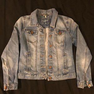 Loft Denim Jacket - Size XS Petite